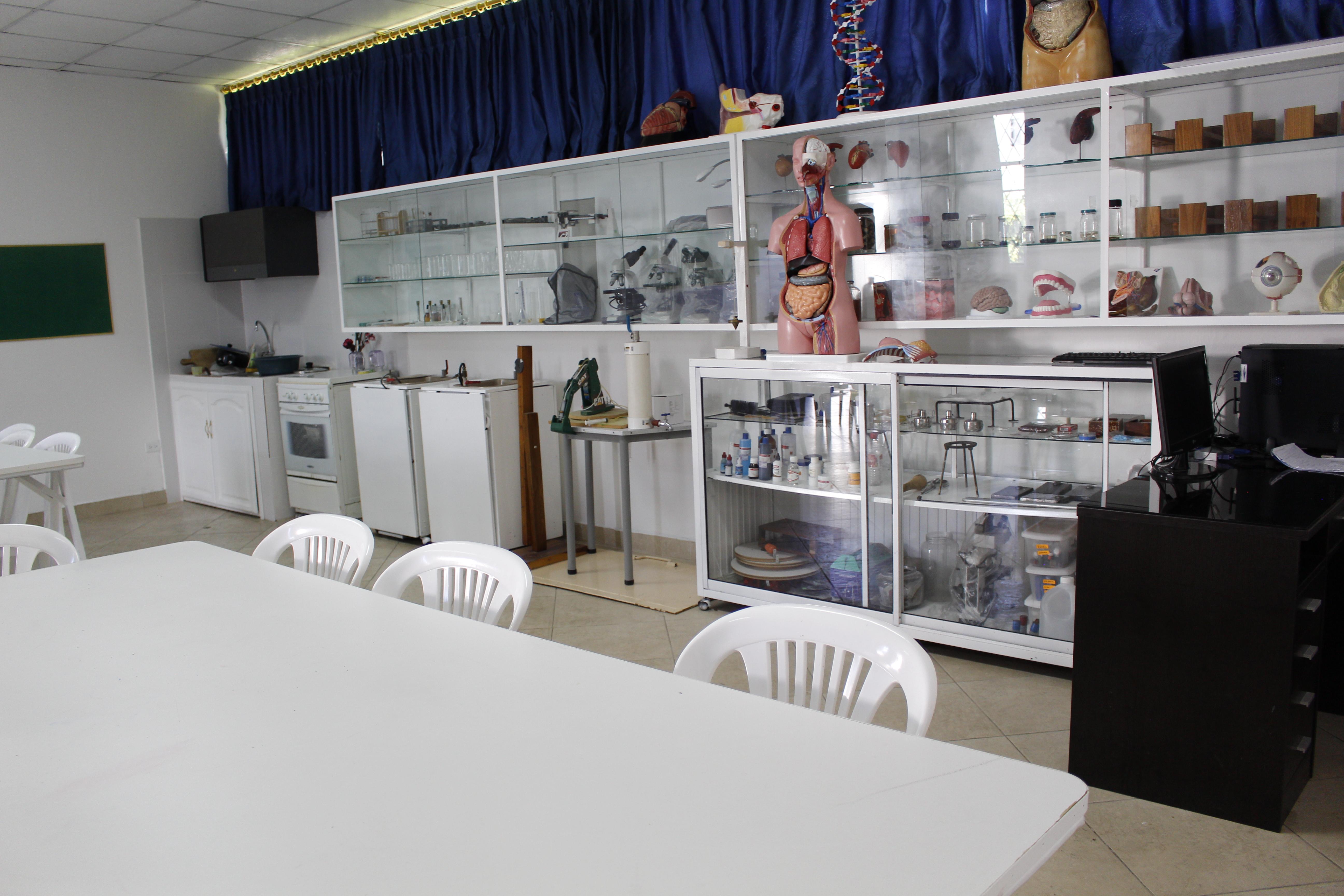 Laboratorio de Física y Química