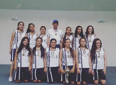 Selección Femenina CW campeonas en Baloncesto