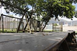 Mesas y espacios recreativos