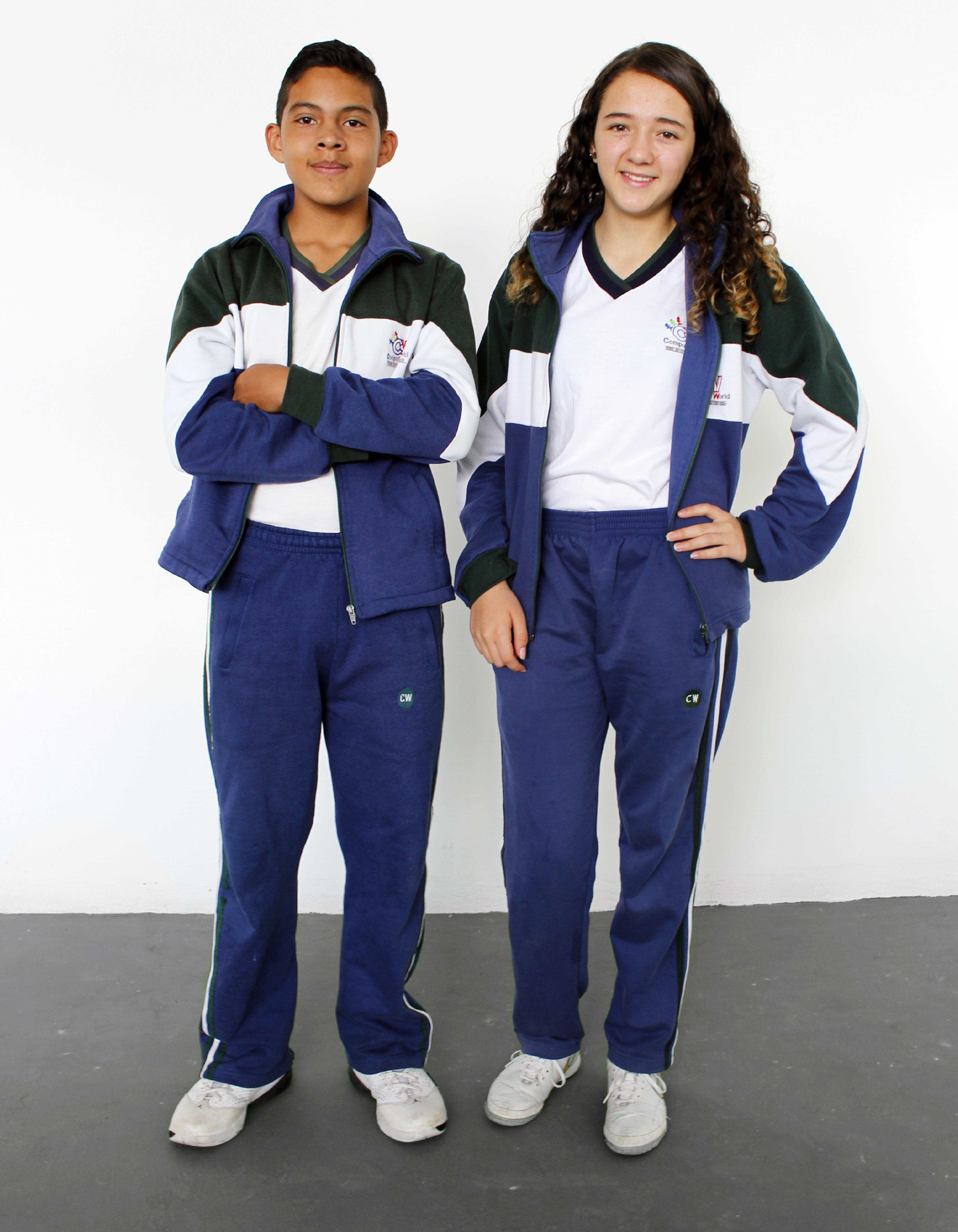 Uniforme de Cultura Física / Deportes