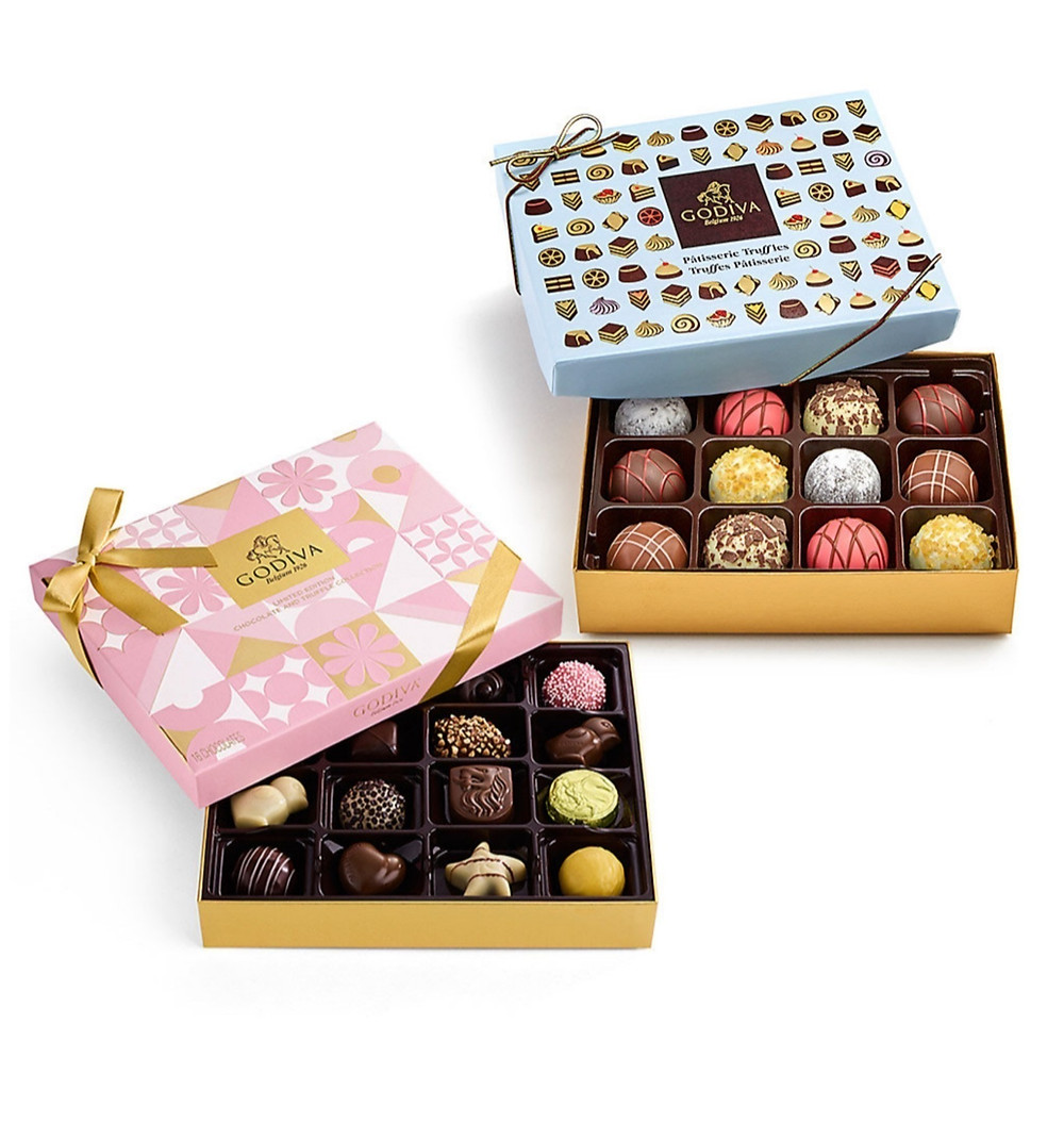Godiva chocolate gift box set