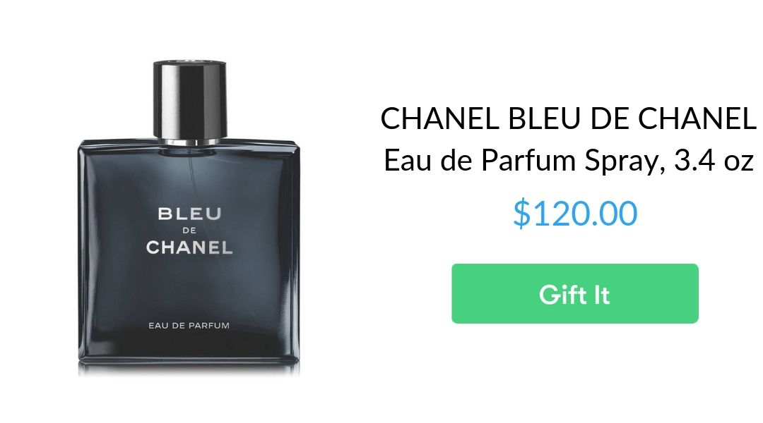 CHANEL BLEU DE CHANEL Eau de Parfum Spray, 3.4 oz
