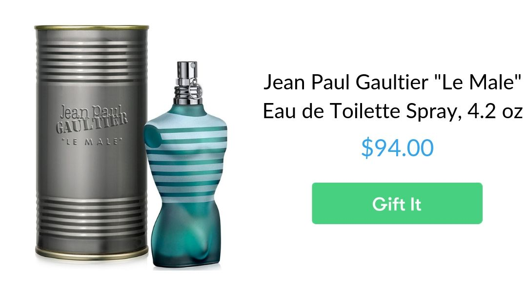 "Jean Paul Gaultier ""Le Male"" Eau de Toilette Spray, 4.2 oz"