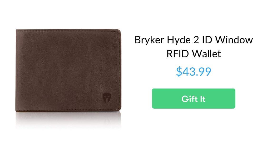 Bryker Hyde 2 ID Window RFID Wallet