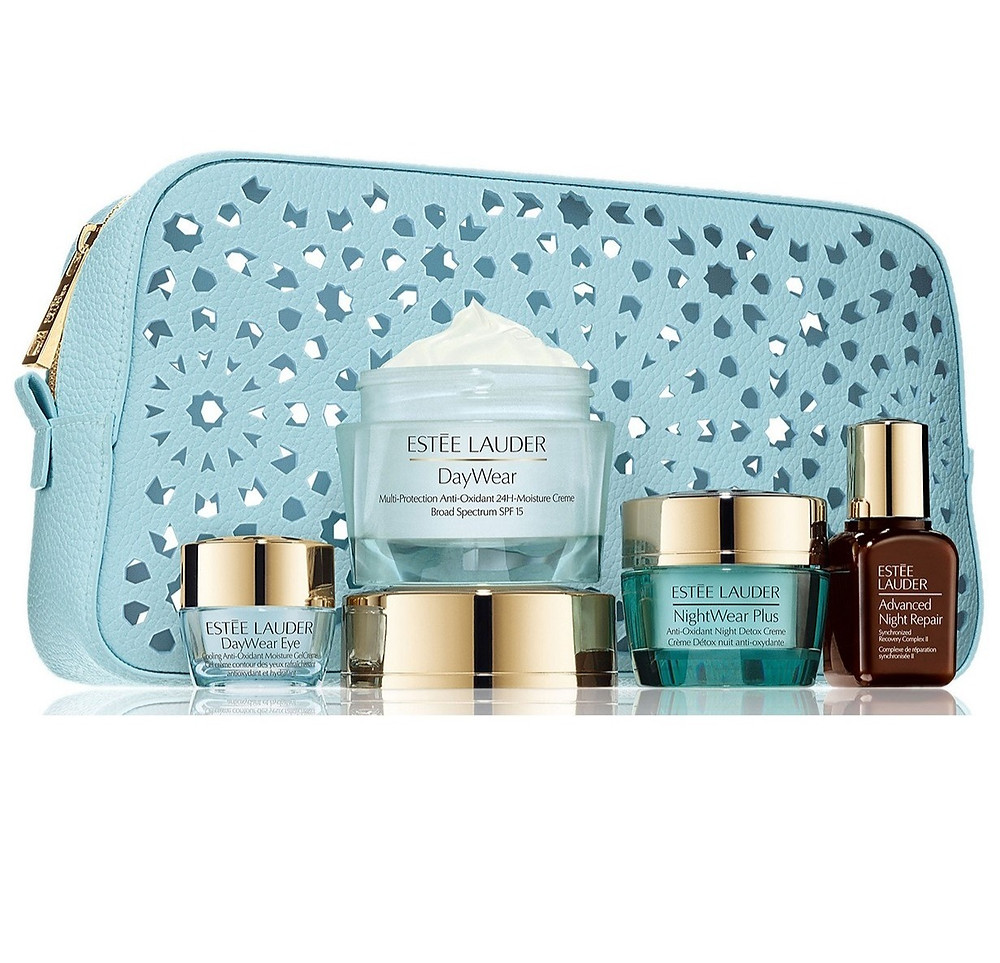 Estee Lauder five pieces skincare set
