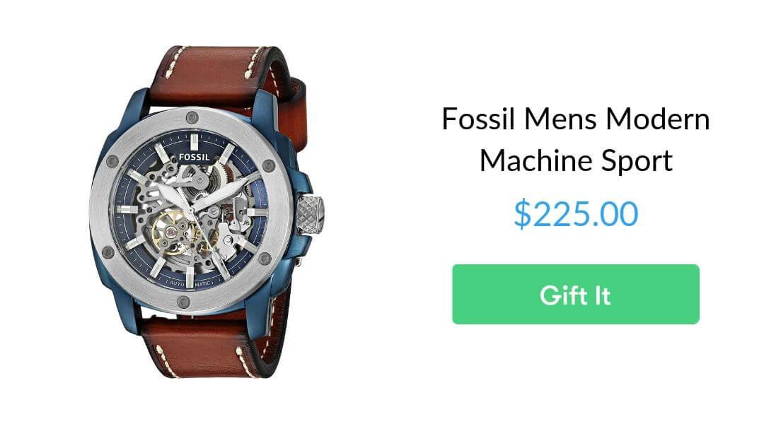 Fossil Mens Modern Machine Sport