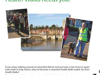 Maidstone Health Walks Needs You!