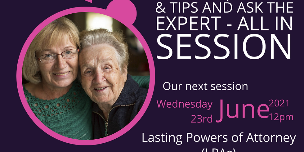 Argo Live - Lunchtime Learning Session-  Lasting Powers of Attorney (LPAs)