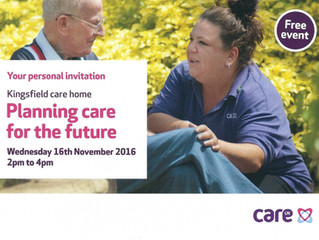 Planning care for the future event