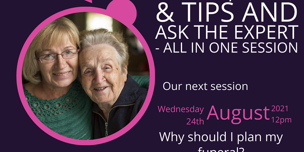 Argo Live - Lunchtime Learning Session- Why should I plan my funeral?