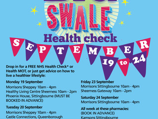 NHS Health Check teams are coming to Swale!