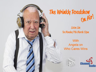 Wrinkly Roadshow on AIR!