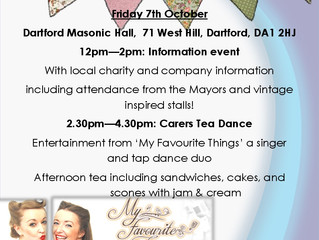 Join in at Carer's Tea Party!
