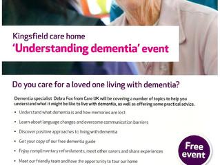 Understanding Dementia Event!