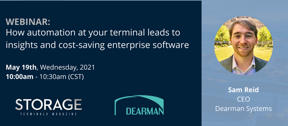 Webinar: How automation at your terminal leads to insights and cost-saving enterprise software