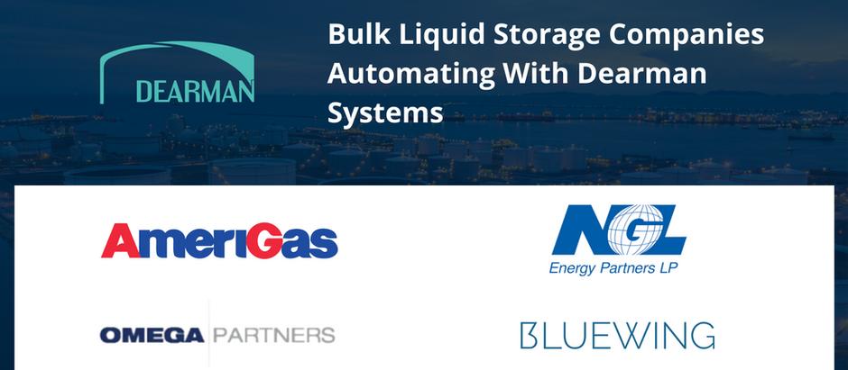 Bulk Liquid Storage Companies Automating With Dearman Systems