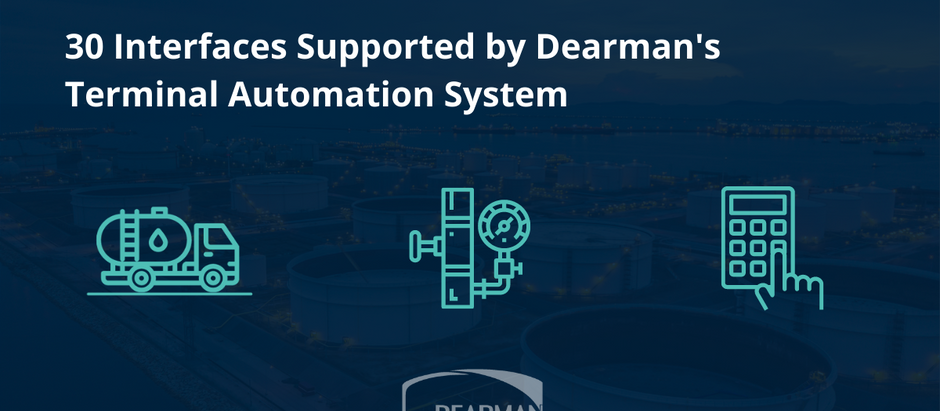 30 Interfaces Supported by Dearman's Terminal Automation System
