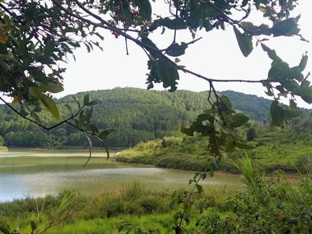 Buổi Trưa Dừng Lại Bên Một Bờ Hồ Nổi Tiếng Trong Nước