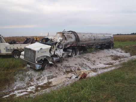 RNR Carriage Tanker Accident