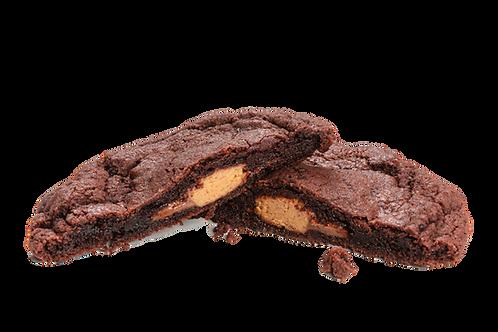 Brownie Peanut Buttercup Cookie