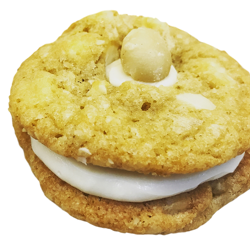 White Chocolate Macadamia Nut Sandwich Lacation Cookie