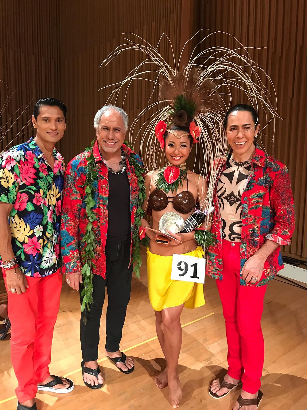 Les Grands Ballets des Tahiti & Mina