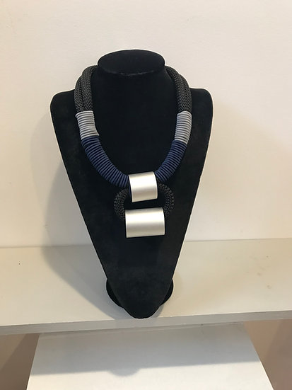 Christina Brampti Double Tube Necklace
