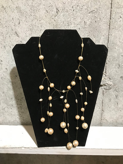 Minnie Pearl Necklace