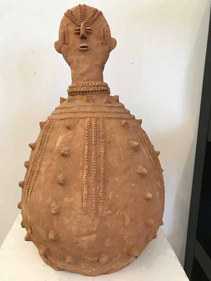 Gourd Shaped Terracotta  Figure: Buro