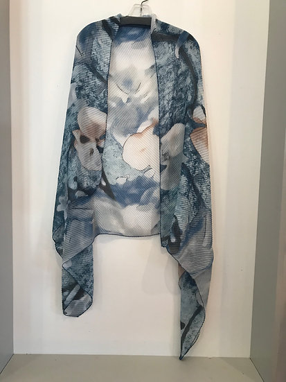 CAS3 Tip to Taupe Summer Scarf/Shawl