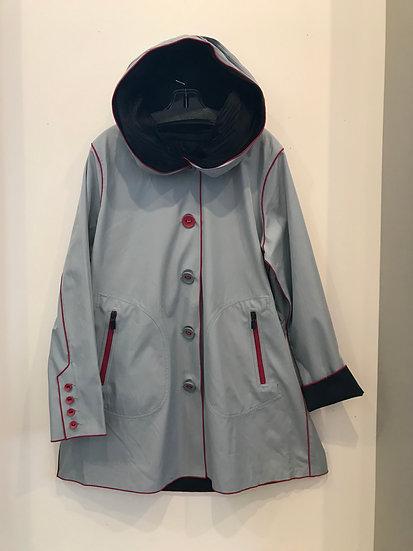 Gray Day Raincoat
