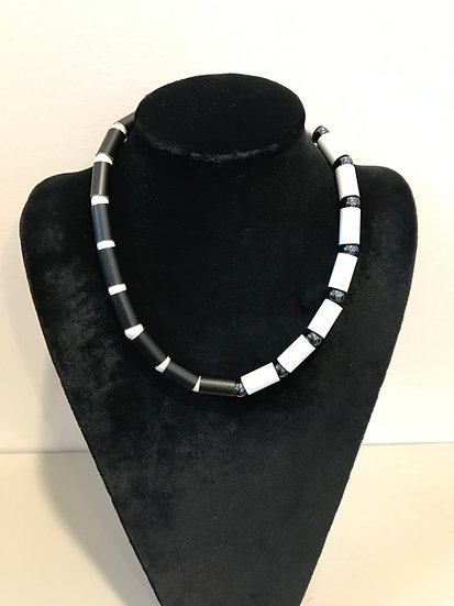 Christina Brampti Half and Half Necklace