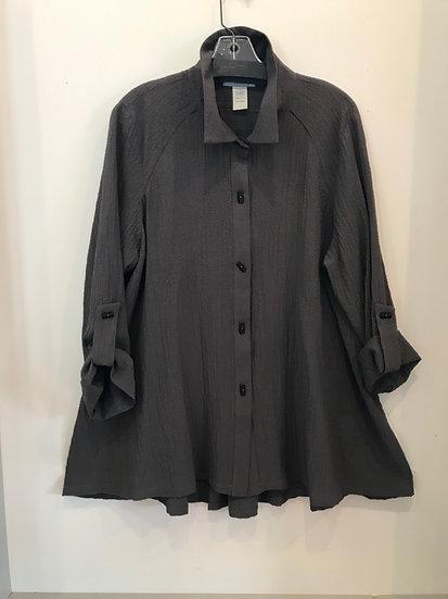 Moonlight Solid Textured Button Shirt/Jacket