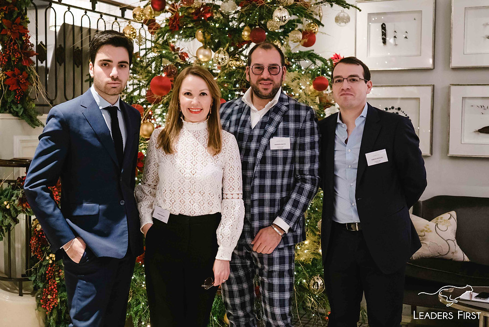 Leaders First Christmas event in Mayfair, London