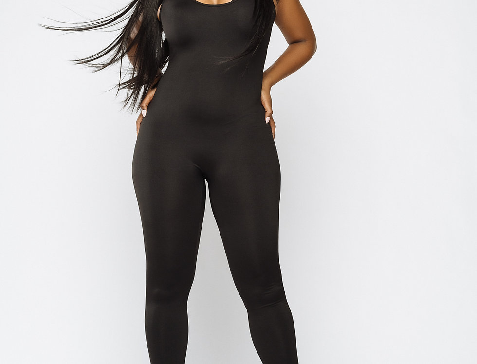 Model Black Bodysuit