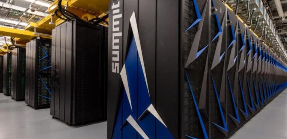 Summit IBM fibre optique