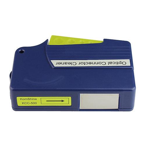 Cassette de nettoyage pour connecteurs optiques
