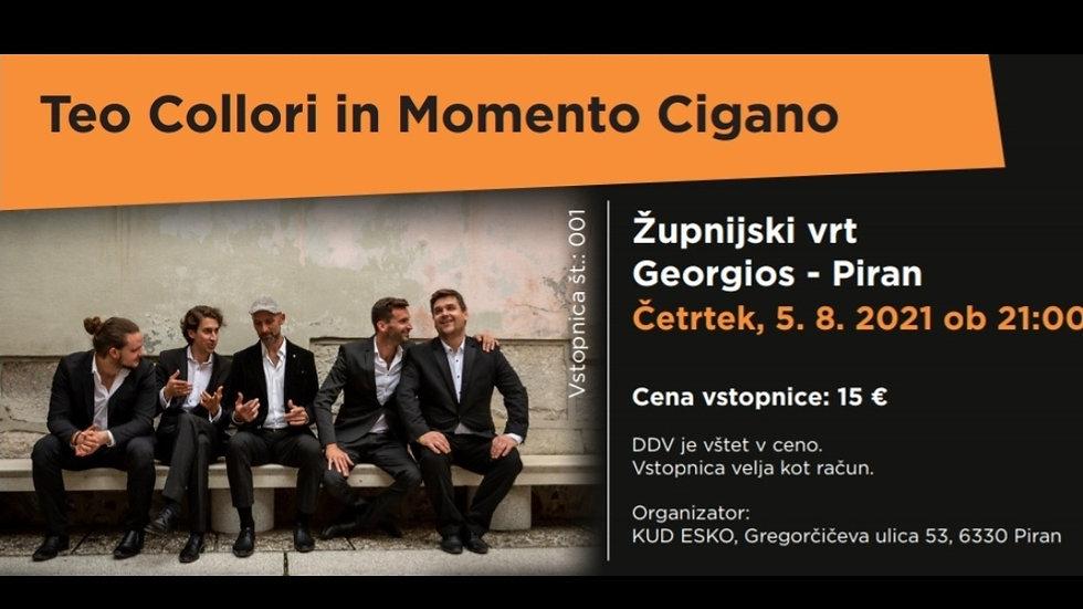 TICKET - concert in Georgios - Piran