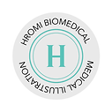 Hromi Biomedical circular logo