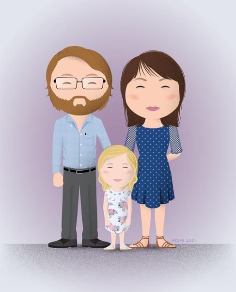 Jacob, Tasha, and Allie