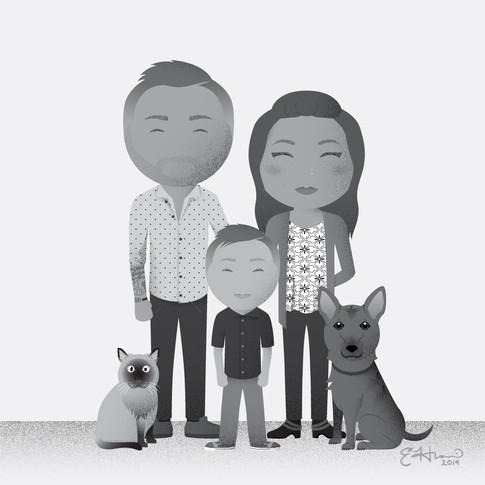 The Jastal Family