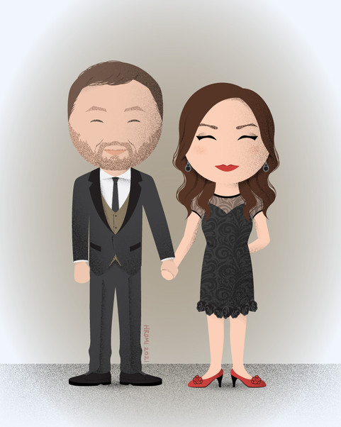 Kisti and Stephen