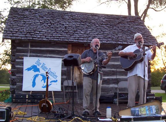 Concert at the Historic Log Cabin, Kaleva, MI