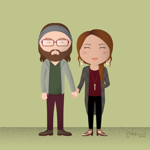 Andy and Celia