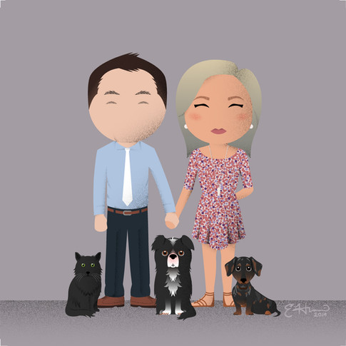 Steve, Jamie, and Family