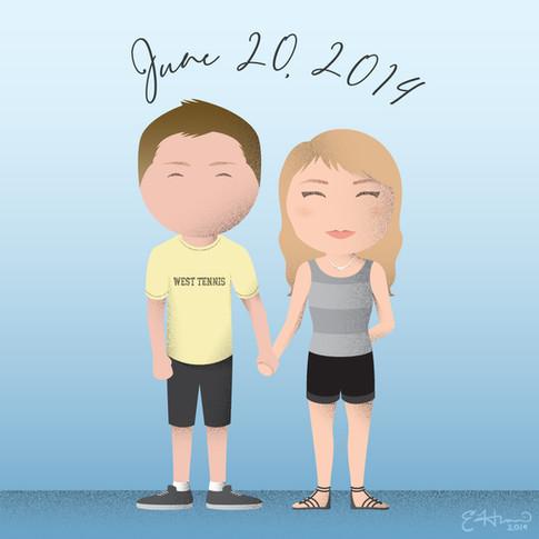 Chris and Natalie #1