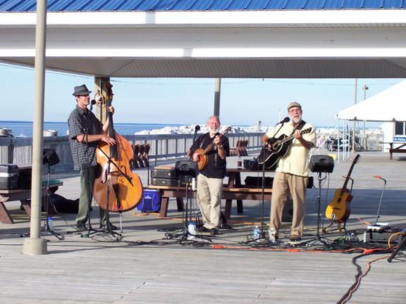 Concert on the Dock, St. Ignace, MI