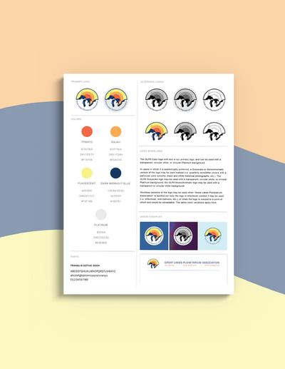 GLPA Logo Redesign and Style Guide