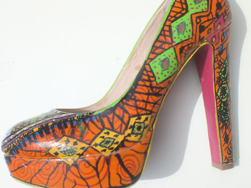 Love Oneness and Understanding Shoes - BESPOKE