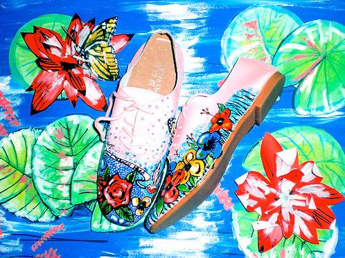 Midsummer Night's Dream/ Hibiscus Love/ Flats